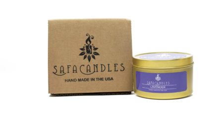 Lavender-tin-candle